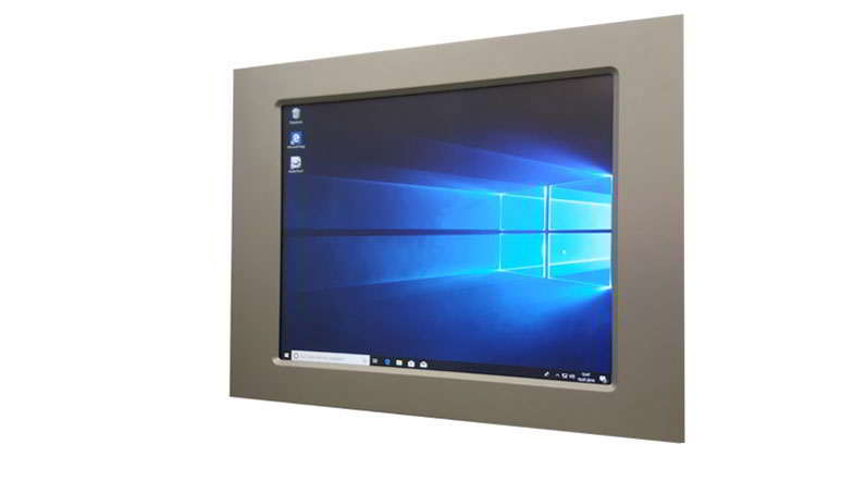 Touch Panel PC mit Intel Core i7 CPU resistive Serie